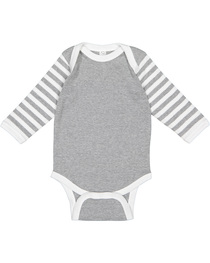 Rabbit Skins Infant Long-Sleeve Baby Rib Bodysuit