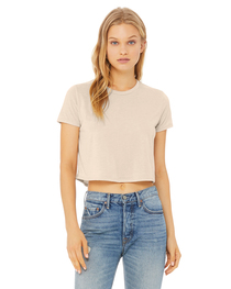 Bella Ladies' Flowy Cropped T-Shirt